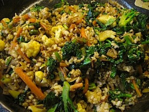 Stir-Fried Rice & Veggies