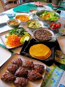 Grass Fed Taco Table