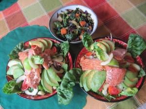 Salmon Salad pretty